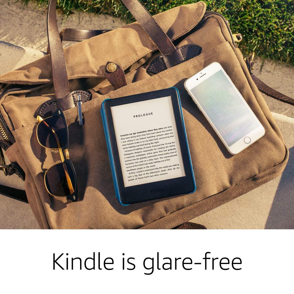 Kindle Black 2019 version écran tactile, logiciel Kindle exclusif, lecteur de livres électroniques Wi-Fi 4 GB eBook e-ink 6 pouces - 6