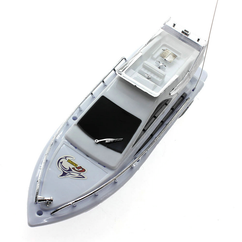2016 High Speed Remote Control Boats Boys Toy Children Plastic Mini Remote Control Boat Electric Toys Model Ship Sailing Games ...