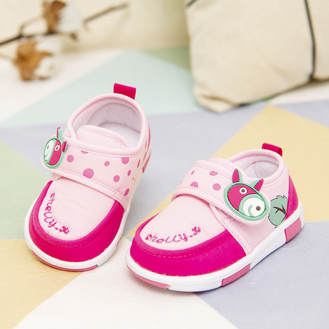 Baby toddler shoes female male spring and autumn 1 - 2 years old soft outsole 6 - baby shoes comfortable slip-resistant