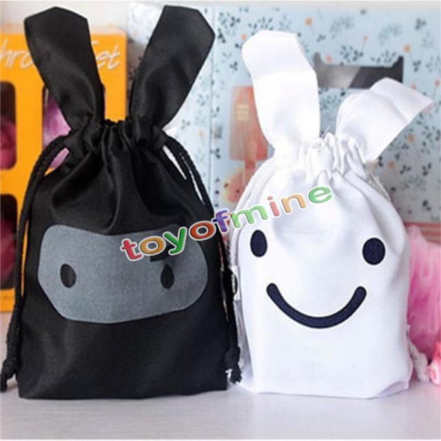 Творческий многофункциональный Путешествие Сэндвич-обед ниндзя Кролик чехол Прачечная сумка для хранения Еда сумка Бесплатная доставка