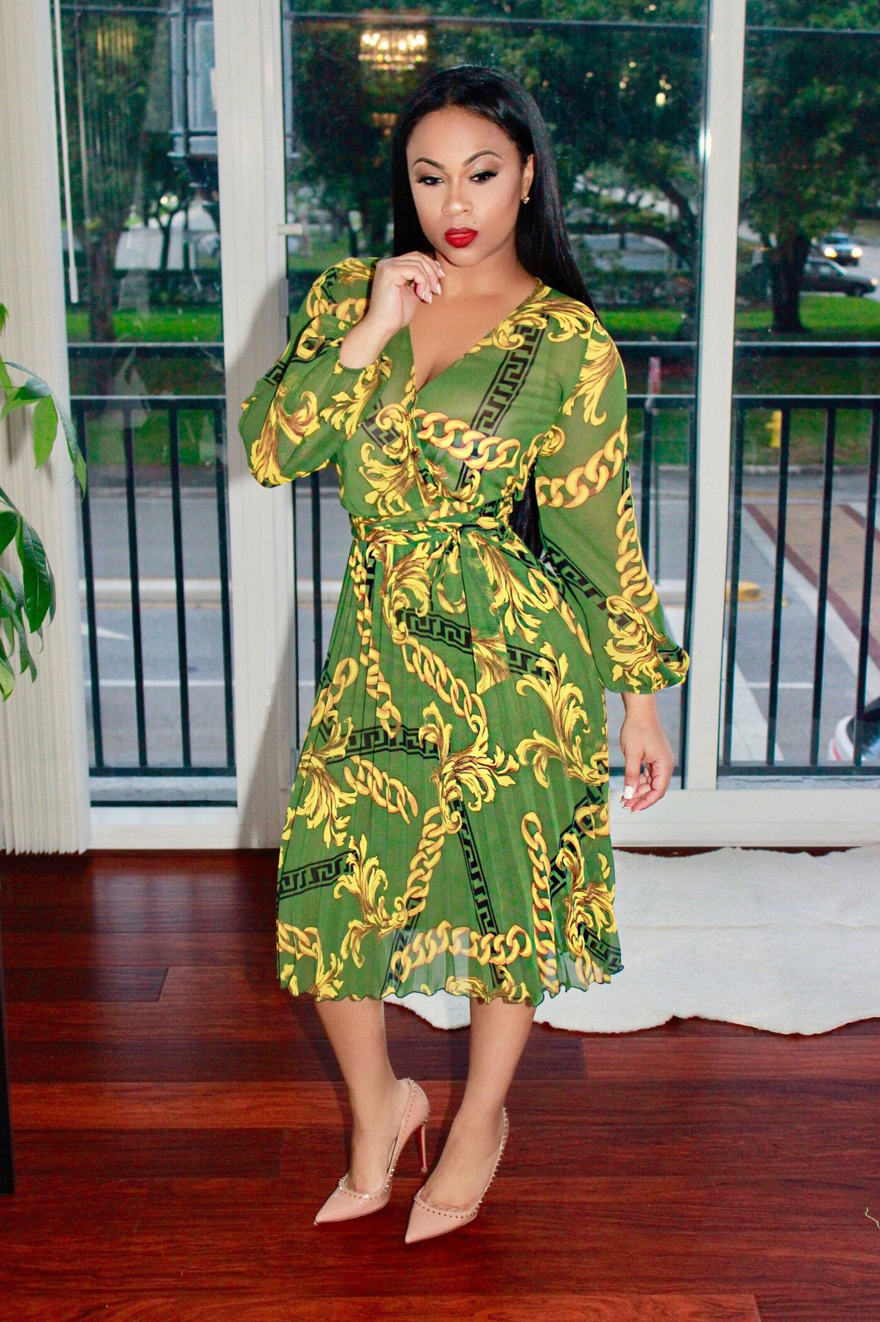 e1c78be1eb4a9 Formal African Print Midi Dress Other dresses dressesss