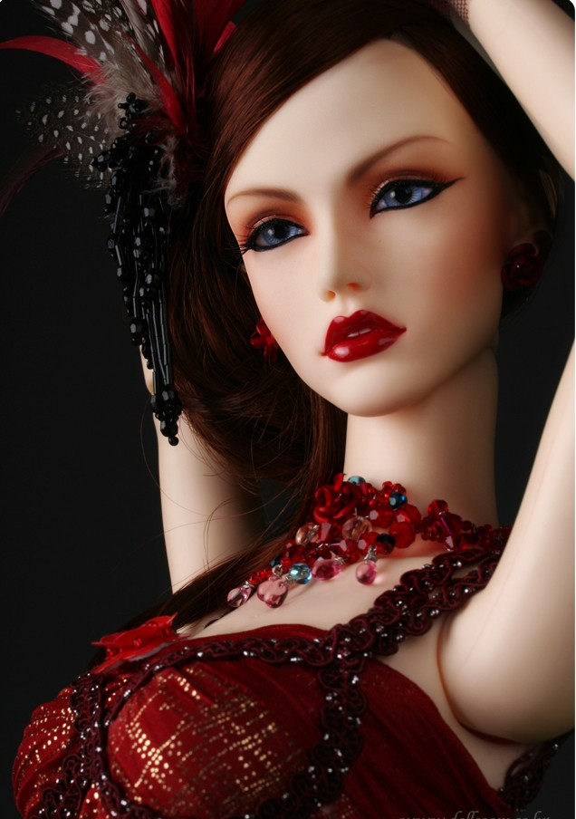 1/3 bjd sd doll girl did rose queen high quality1/3 bjd sd doll girl did rose queen high quality