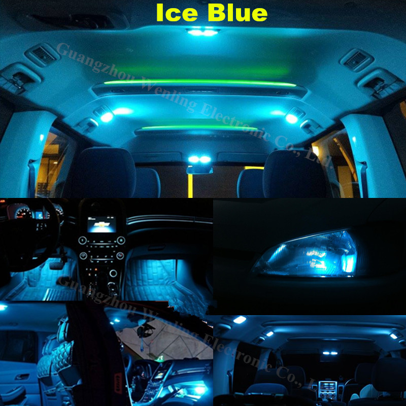 Wljh 10x Pure White Trunk Led Car Light Interior Lighting Kit For Bmw 3 Series E46 M3 Convertible 1999 2005 Tag Canbus In Signal Lamp From