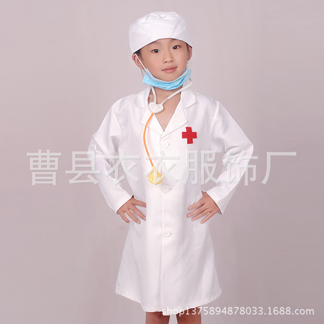 Future Doctor Nurse Childrens Boys Girls Toddler Cute Halloween Costume (3T-13T) NEW  sc 1 st  AliExpress.com & Future Doctor Nurse Childrens Boys Girls Toddler Cute Halloween ...