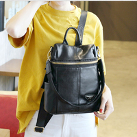 Hot2017 Fashion Women Backpack High Quality Youth Leather Backpacks For Teenage Girls Female School Shoulder Freeshipping