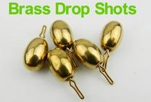 1.7g ~ 10g Drop Shots for Bass Fishing Tungten Lead Brass Fishing Rig Drop Shot Weight 1/4 3/15oz 1/8oz Lure Fishing Accessories
