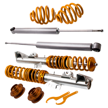 For BMW Series 3 E36 323i 323 i 318is, 318ic 323i Coupe Saloon Touring Adjustable Coilover Suspension Kit Spring Strut image