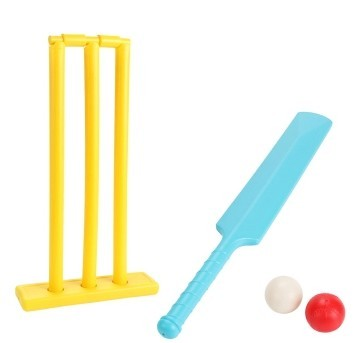 Children's Plastic cricket balls playing Set sports toys fitness equipment Racquet Sports
