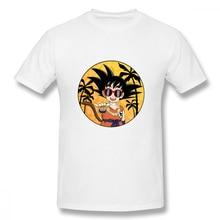 Man's 3D Print Shaka Son Goku T Shirt Man Crazy Dragon Ball Z  Unique Design For Boy Crewneck Cotton - Shirt shaka ponk montbéliard