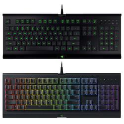 Razer CYNOSA 104 Keys Wired USB Gaming Keyboard for Computer w/ Backlight Membrane Keyboard for LOL PUBG Games