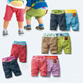 Summer Baby Shorts for Boys Girls Cotton Beach Casual Short  Patchwork Breechcloth Children Shorts Soft Short Pants Trousers