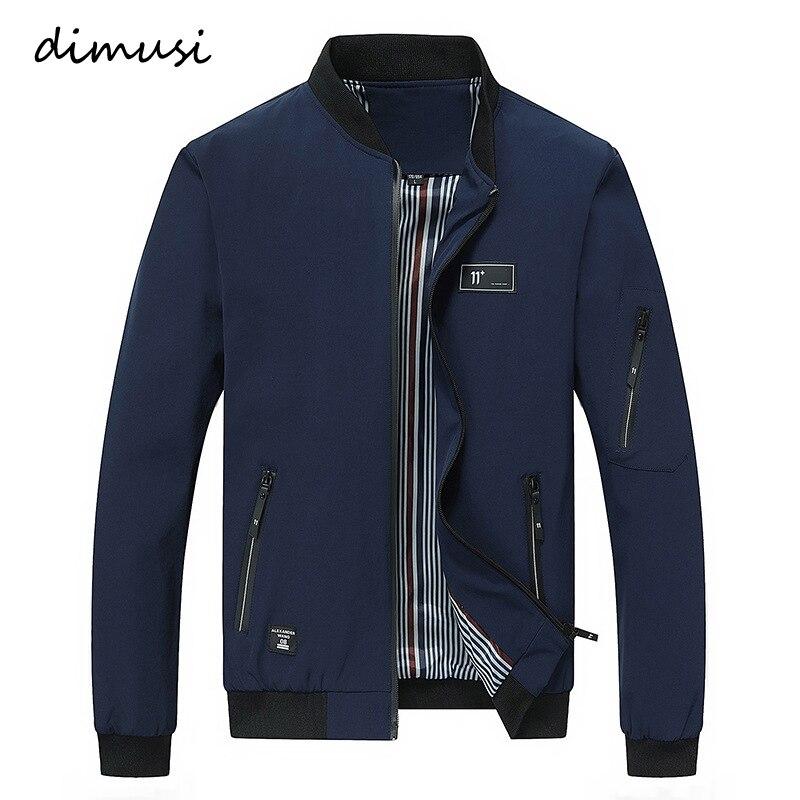 DIMUSI 2018 Mode Printemps Hommes de Vestes Solide Manteaux Mâle Position Décontractée Col Veste Outerdoor Manteau M-XXXXL PA072