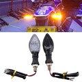 2 Шт. Мотоциклов Сигнала Поворота Сигнальная лампа 13LED SMD LENS Blinker Высокое Янтаря