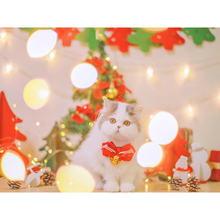 Full Square/Round DIY Diamond Embroidery Christmas cat 5D Diamond Painting Rhinestone Mosaic Home Decor  HYY diamond painting full square owl 5d diy diamond embroidery mosaic picture of rhinestone animal christmas decoration home
