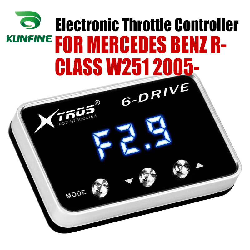 Car Electronic Throttle Controller Racing Accelerator Potent Booster For MERCEDES BENZ R-CLASS W251 2005-2019 Tuning Parts