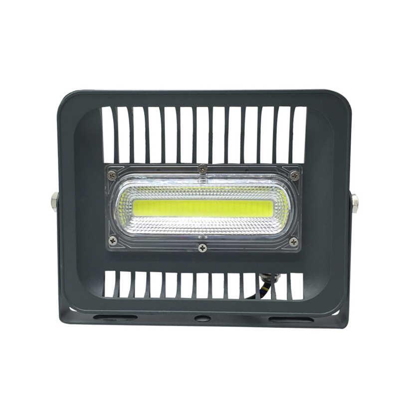Умный дизайн ввода DC 12 V 50 W Светодиодный прожектор супер тонкий IP65 Водонепроницаемый открытый светодиодный прожекторное освещение для сада лампы garage Бесплатная доставка