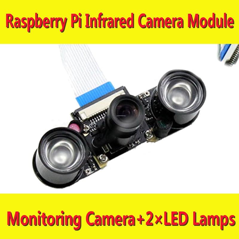 Raspberry pi Monitor Camera RPI IR Infrared Webcam Suit Raspbian DIY Development Kit new arrival freeshipping wholesale hot sell