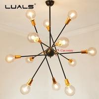 Loft Pendant Lamp Nordic Suspension Luminaire Creative Adjustable Led Pendant Light Iron Vintage Pendant Lights Art Deco Lamps