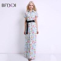 BFDADI 2017ฤดูร้อนดอกไม้พิมพ์