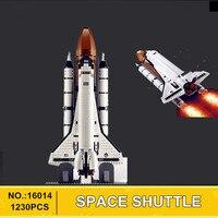 В наличии H & HXY 1230 шт. 16014 из печати shtttle экспедиции космический корабль 10231 Лепин buliding Конструкторы кирпичи развивающие Игрушечные лошадки