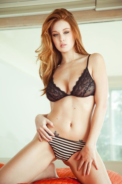 leanna decker beautiful girl usa hot star silk poster art