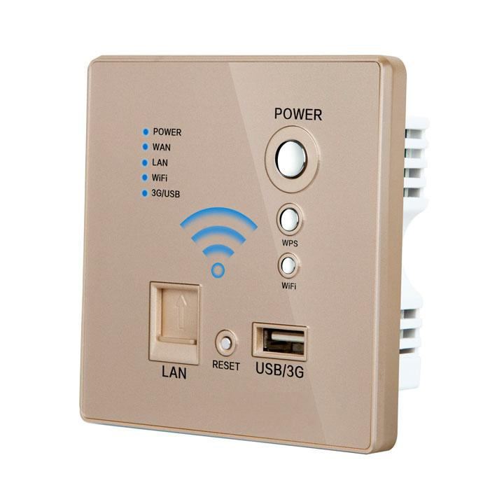 Free shipping WIFI USB Socket best price Champagne color Wall Outlet Power Outlet internet socket free shipping best price infinity phaeton challenger sid sei ko usb mother board