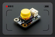 DFRoBot 100 Genuine Digital Push Button with Digital cable for Arduino DUE etc Yellow Modules