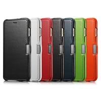 ICarer Luxury Цвет серии Винтаж кожа сторона открыта флип чехол с слот Кредитные карты дизайн для iphone6 плюс 6S плюс