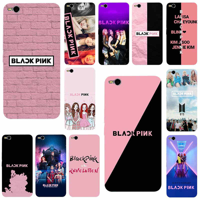 Mobile Phone Cases for HTC One M7 M8 M9 M10 E9 Plus U11 A9 Desire 530 630 626 628 816 820 Shell Black Pink K-pop Blackpink Kpop