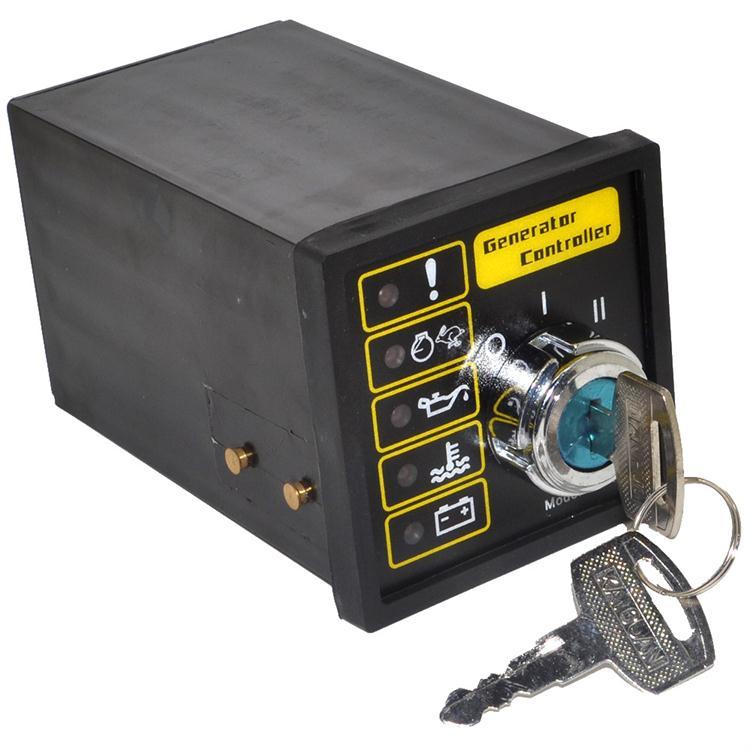 New 501K Manual Start Generator Controller Board Key Start Generator Control Module Free Shipping with Track