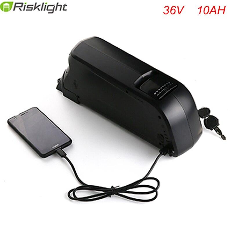 ЕС США бесплатная налог 36 В 10ah Батарея 500 Вт Ebike Батарея 36 В с 42 В 2A Зарядное устройство 36 В Электрические велосипеды литий-ионный Батарея pack