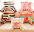 Gift for baby 1pc 50cm cartoon girl love bear rabbit craftholic plush waist pillow office nap rest cushion novelty stuffed toy