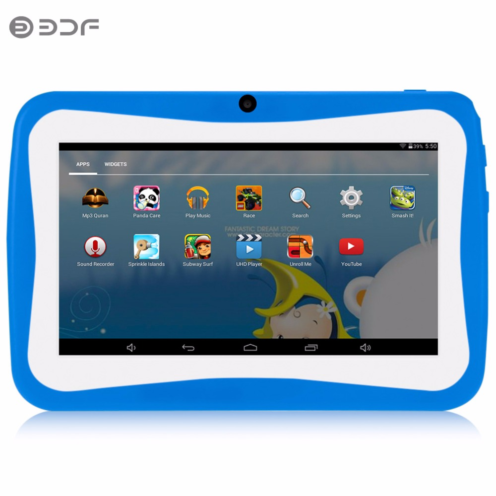 7 inch Children's Tablet PC Edition Tablet PC Google unlocked Android 4.4 8GB WiFi Tablet PC kids Gift Tablet Pc Baby tab cuetec 2 pc special edition black page 7