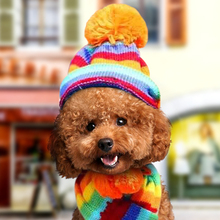 Petcircle Pet hat scarf foot kitten cat dog Teddy autumn and winter teddy puppies Bomi
