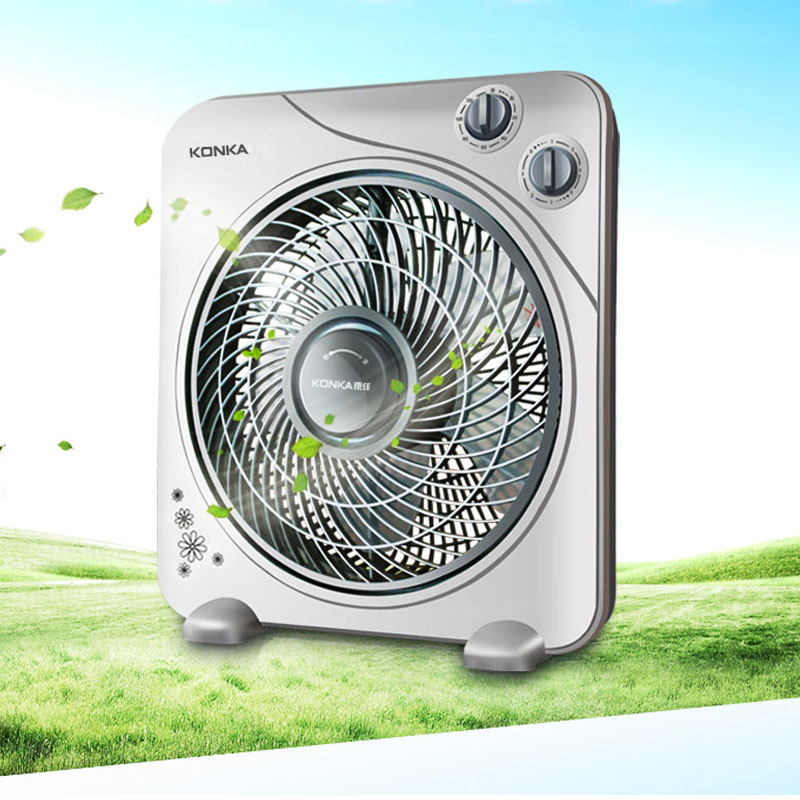 JA194 Desktop Electric Home Page fan Mute Table student Mini small fan dorm room Fan Small Soft timing free shipping parts timing pitch three page fan head desktop mute fans