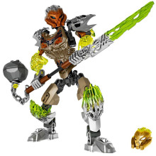 цена на BionicleMask of Light 71306 Bionicle Pohatu Stone Land Guardian Building Block Compatible With Legoings Bionicle