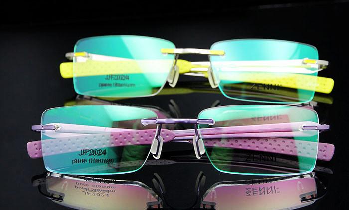 Titanium Eyeglasses Rimless (9)