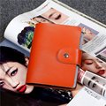 AEQUEEN 60 Bits Slots Cards Bag Genuine Leather Women Bank ID Holders Fashion Large Capacity Men Business Card Holder