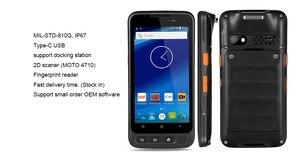 "Image 3 - Unlocked Kcosit V720 IP67 Rugged Waterproof Phone Fingerprint Reader Octa Core 5.0"" Android 7.0 Smartphone GPS 4G Lte 2D Scanner"