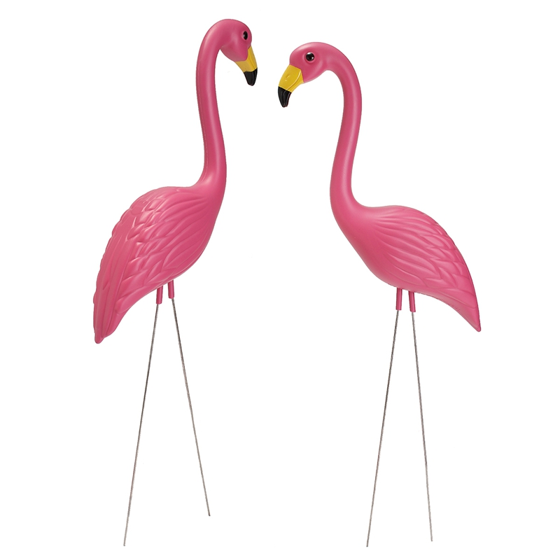Online Buy Wholesale pink plastic flamingos from China pink