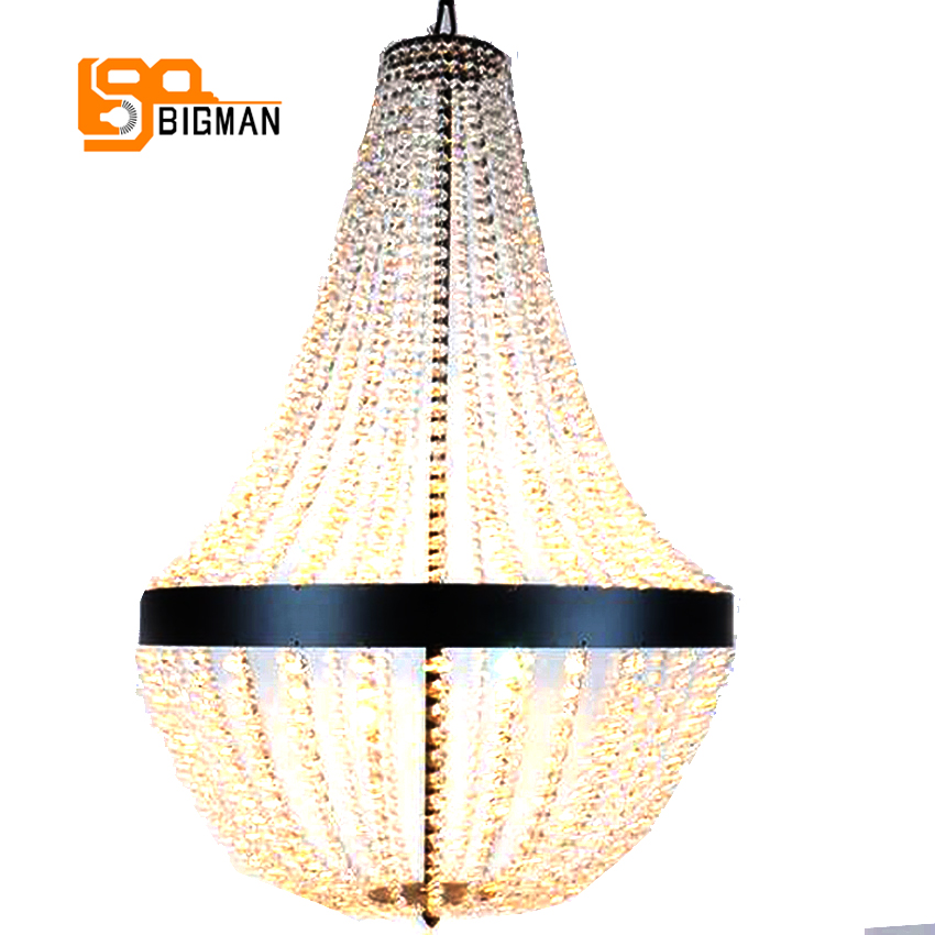Freies Verschiffen Neues Design Schwarz Kristall Kronleuchter Beleuchtung Dia40 H65cm Lster Wohnzimmer LampenChina
