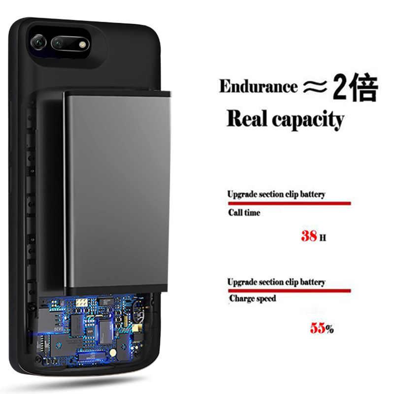 6500 мА/ч, Honor V20 Батарея чехол для huawei Honor вид 20 V20 Мощность Крышка для huawei Honor V20 USB Зарядное устройство базовый чехол для телефона