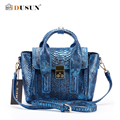 DUSUN Handbags Gradient Color Messenger Bag Serpentine Women Casual Shoulder Bag Fashion Luxury Design Messenger Smiley Bag