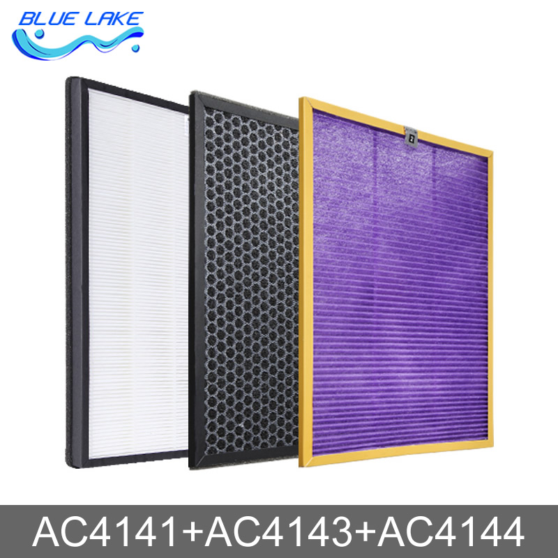 Value package, air purifier filters sets,AC4141/4143/4144,healthy air always,Humidification filter,Air Purifier Parts  цена и фото
