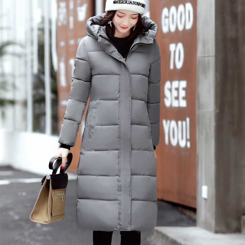 2017 Winter New Fashion Long Coat Thickened Turtleneck Warm padded Jacket women Padded Zipper Plus Size Outwear Casacos 7 Colors good 2017 winter fashion long coat slim thickened turtleneck warm jacket hooded cotton padded zipper plus size outwear casacos