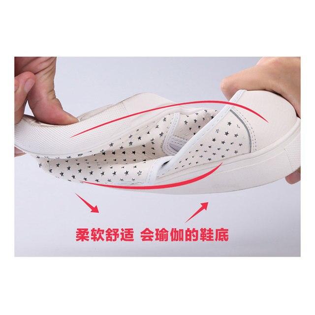 WOLF WHO Women Leather Loafers Slipon Slipony Women Shoes Female Loafers Light Casual Krasovki Boty Obuv Footwear h-048