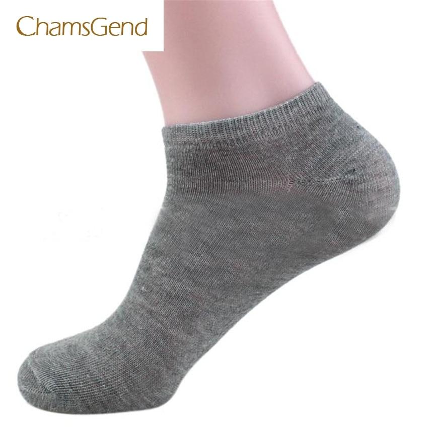 Chamsgend Coolbener Men Cotton Ship Boat Short Sock Ankle Invisible Socks Warm Winter dec5