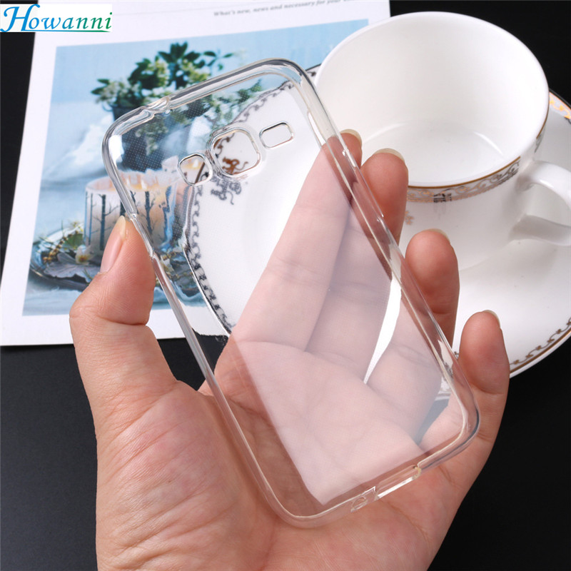 Howanni Soft Transparent Silicone Case For Samsung Galaxy J1 Mini Prime Case 4.0 Back Cover For Samsung J1 Mini Prime Case Capa