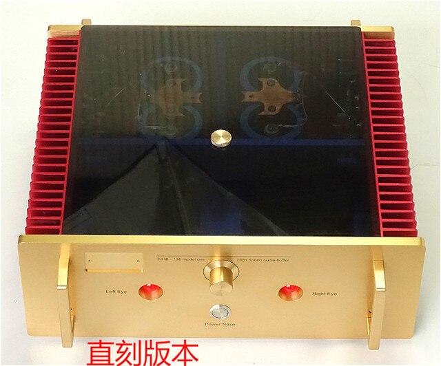 N-025 No Negative Feedback Study/Copy Dartzeel NHB108 Power Amplifier  140W*2 8ohm OFC Super pure Cooper Transformer Best Sound