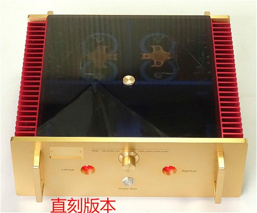 N-025 Non Le Risposte Negative di Studio/Copia Dartzeel NHB108 Amplificatore di Potenza 140 w * 2 8ohm OFC Super-puro Cooper trasformatore Best Suono